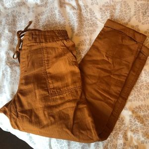 Old Navy linen ankle pants, size Small